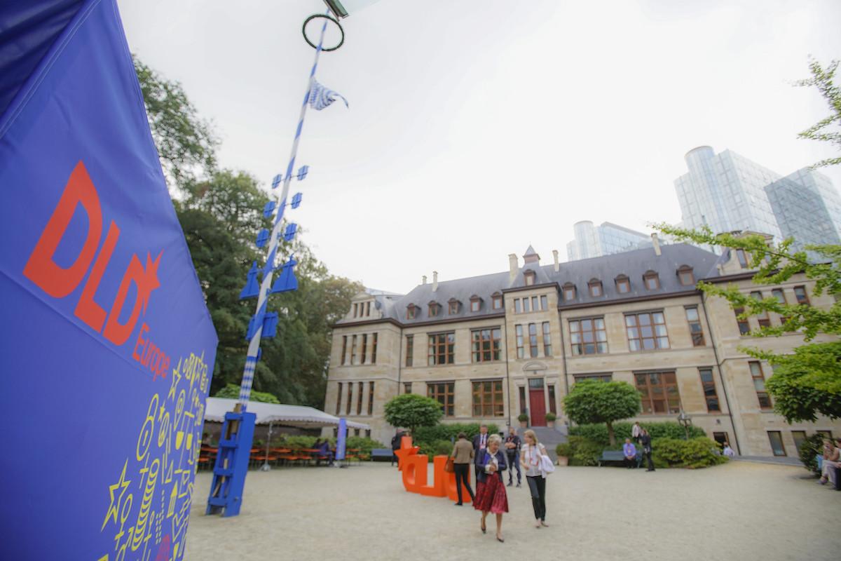 DLD conference Brussels 2018