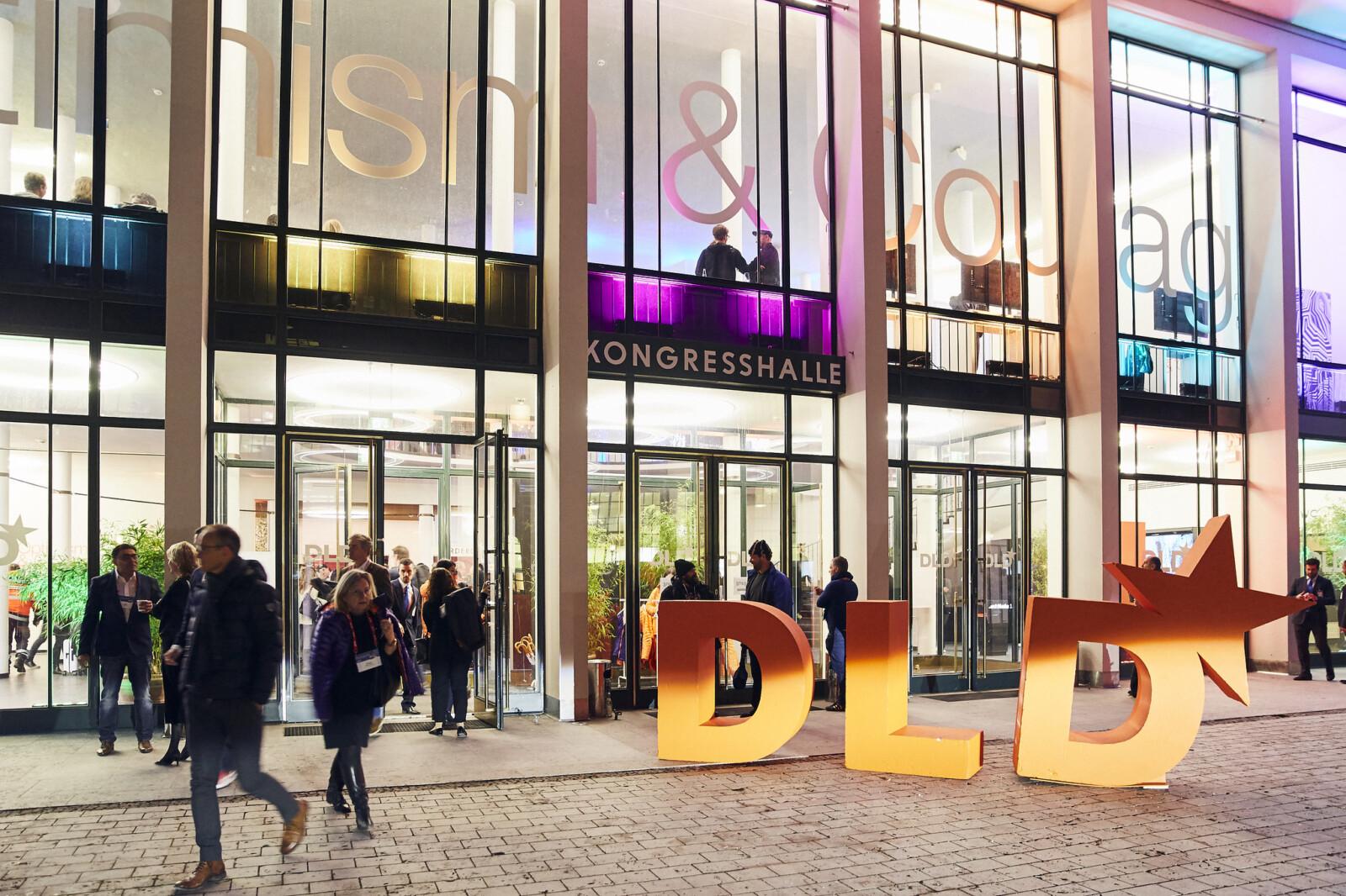 Alte Kongresshalle, Munich, DLD 2019