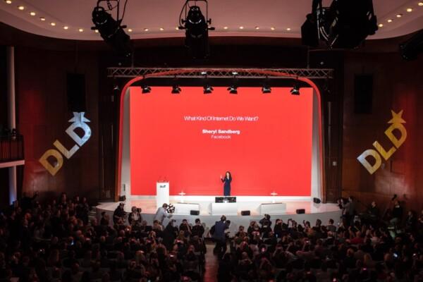 Sheryl Sandberg, Facebook, DLD 2019, Trust