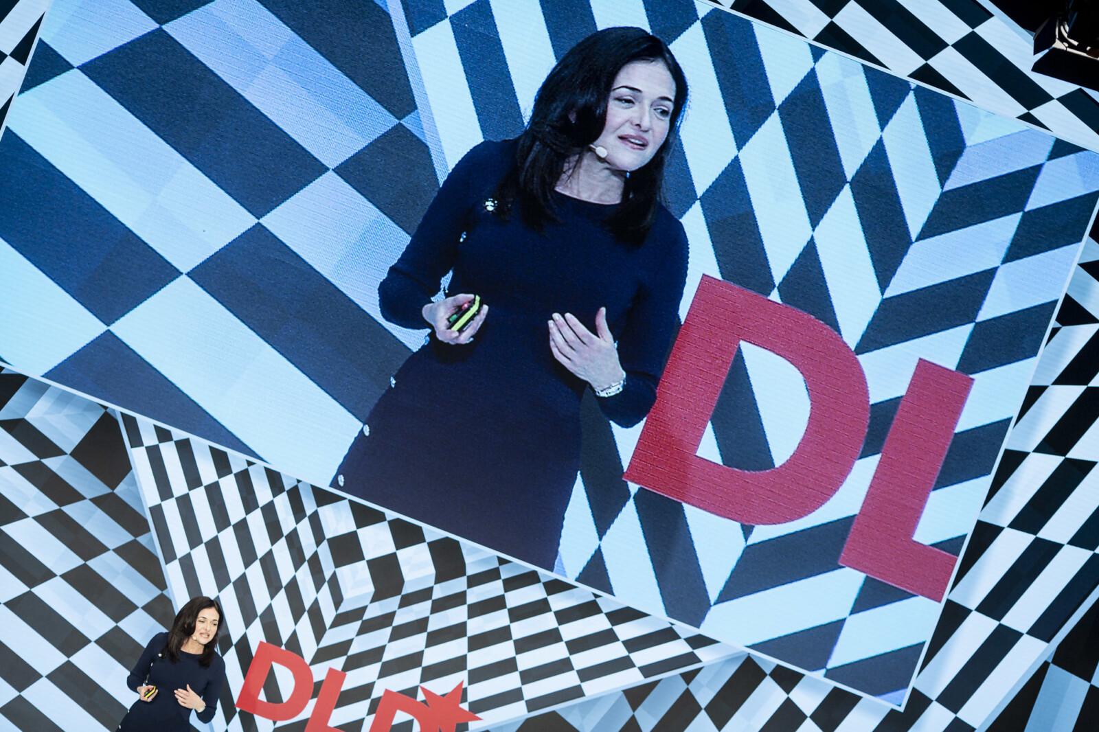 Sheryl Sandberg, Facebook, DLD conference 2019