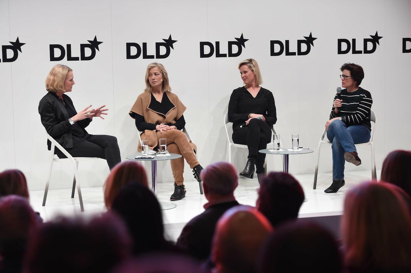 Kara Swisher, Hilary Rosen, Miriam Meckel, Megan Murphy, DLD 2018