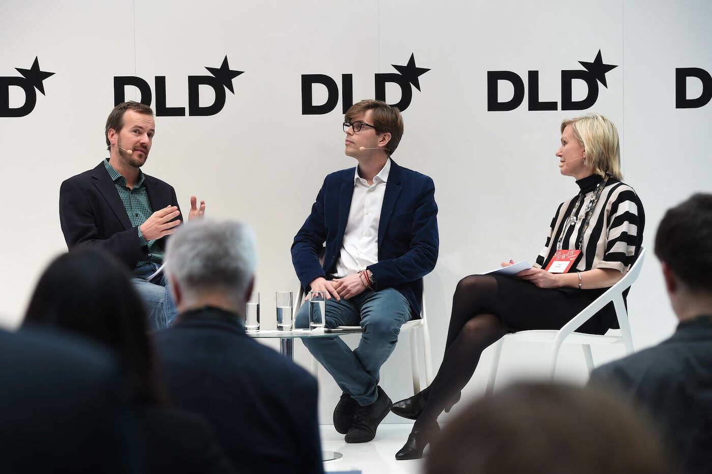 Taavet Hinrikus (Transferwise) and Matthias Ljungman (Atomico) in conversation with Ann Mettler (European Political Strategy Centre)