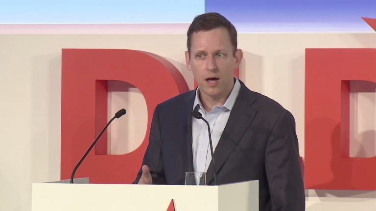 Peter Thiel, investor, PayPal, DLD 2012