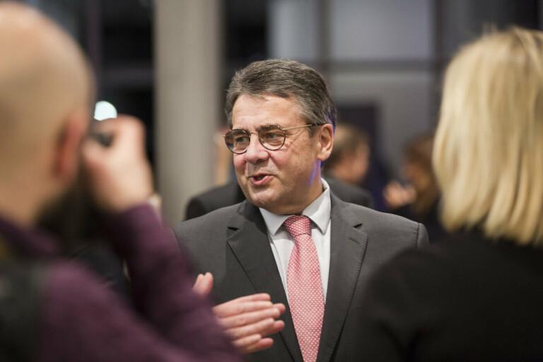 Sigmar Gabriel, DLD Munich 2018