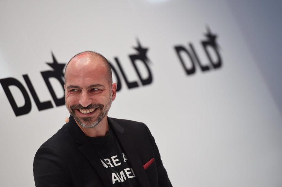 Uber CEO, Dara Khosrowshahi, DLD conference
