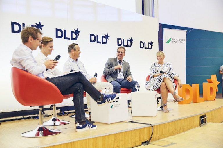 DLD Campus, panel discussion,