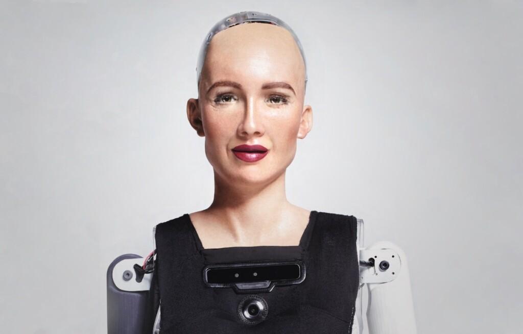 Sophia robot, Hanson Robotics, DLD Campus 2019