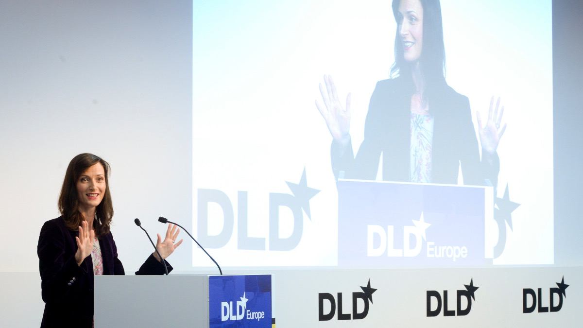 Mariya Gabriel, European Commissioner, DLD Europe 2019