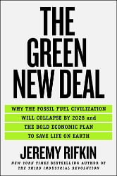 Jeremy Rifkin, Green New Deal, book cover