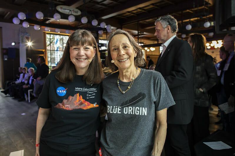 Astronaut Cady Coleman, Esther Dyson DLD20