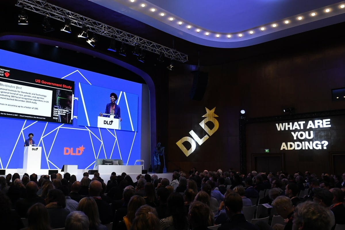 Joy Buolamwini, Algorithmic Justice League, DLD20