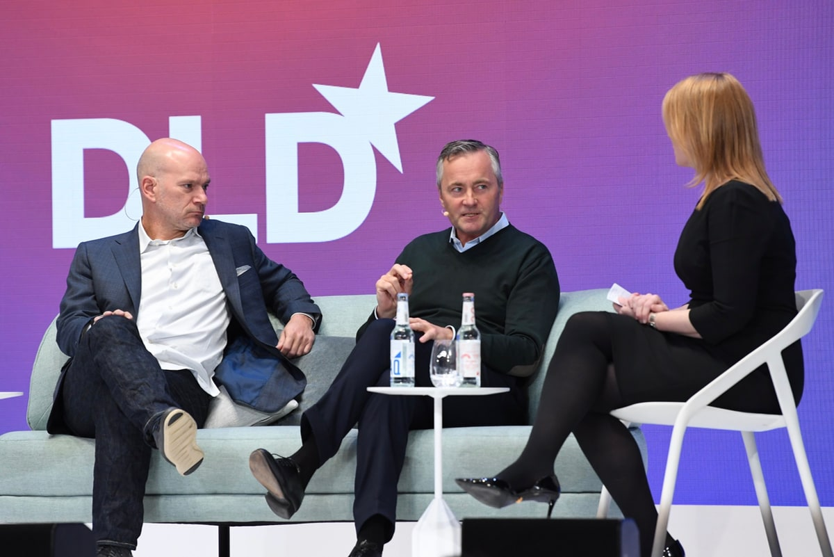 Andrew McAfee, Hannes Ametsreiter, Amy Wilkinson, DLD talk