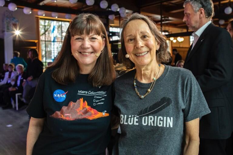 Cady Coleman, astronaut, Esther Dyson, DLD, video, talk