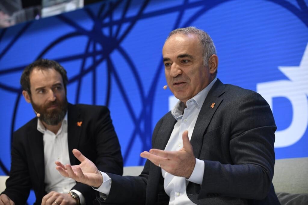 Garry Kasparov, AI, security, Avast, Michal Pechoucek, DLD