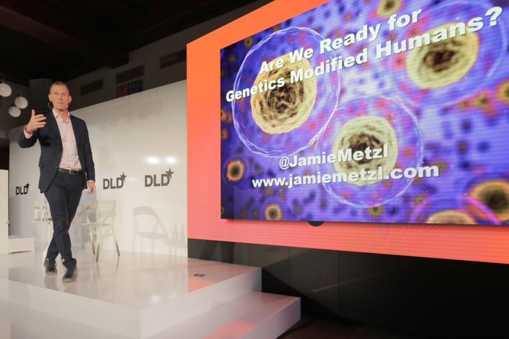 Genetics, Jamie Metzl, talk, DLD, Hacking Darwin