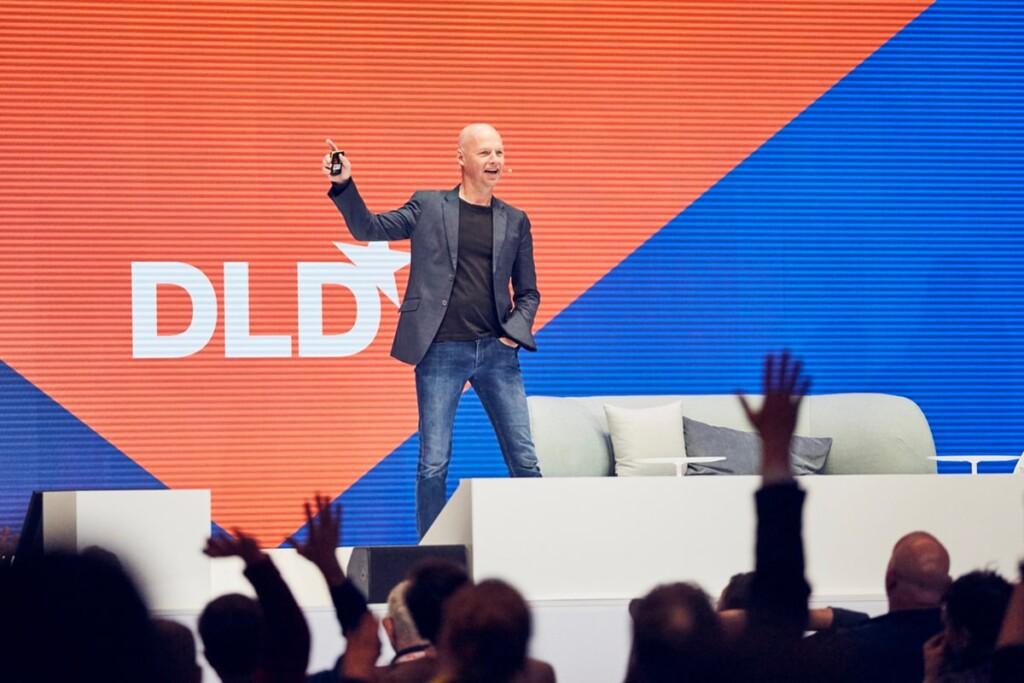 Sebastian Thrun, DLD talk, air taxis, passenger drones, mobility, Kitty Hawk