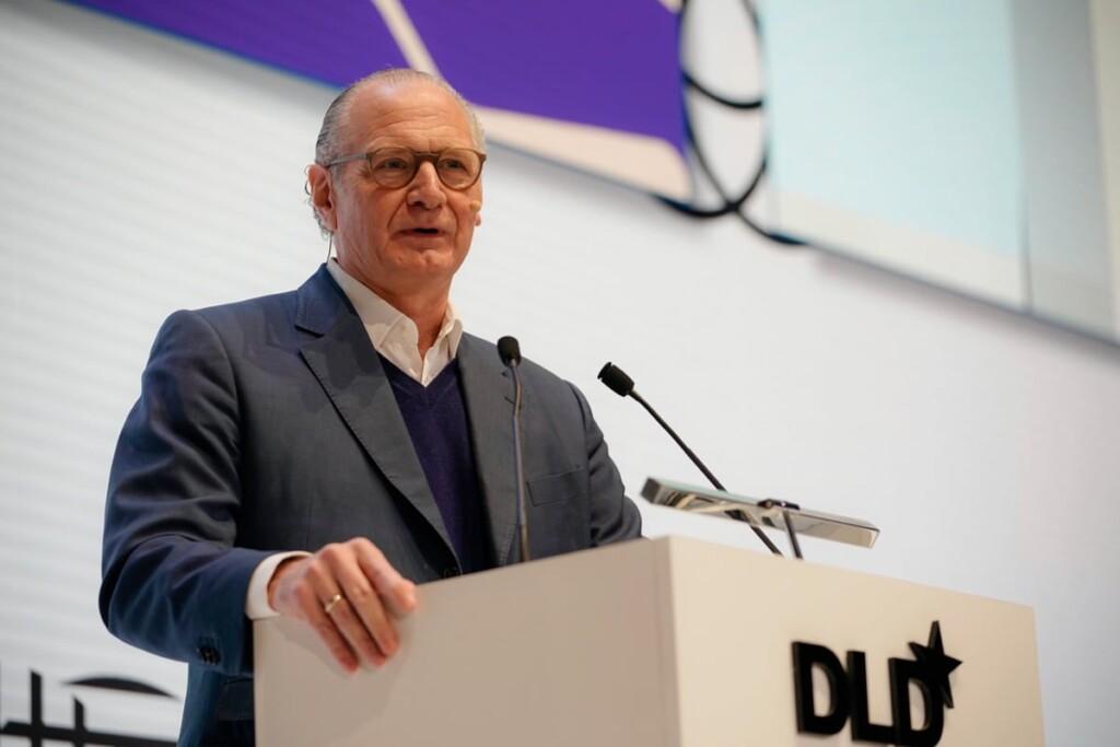 Stefan Oschmann, Merck, DLD talk