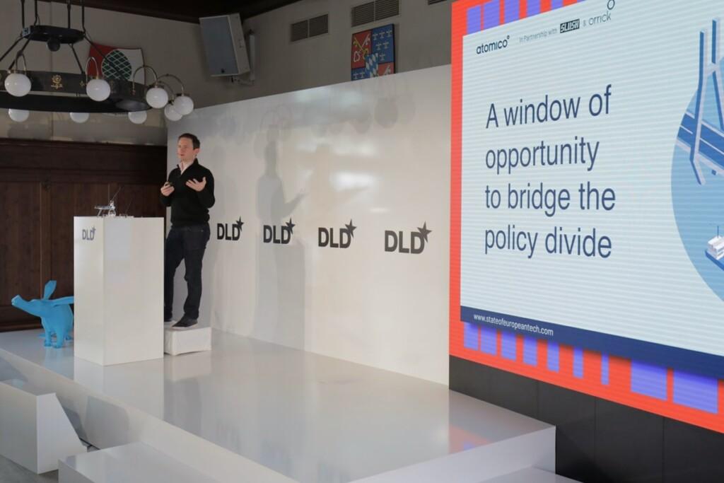 Tom Wehmeier, Atomico, State of European Tech, presentation