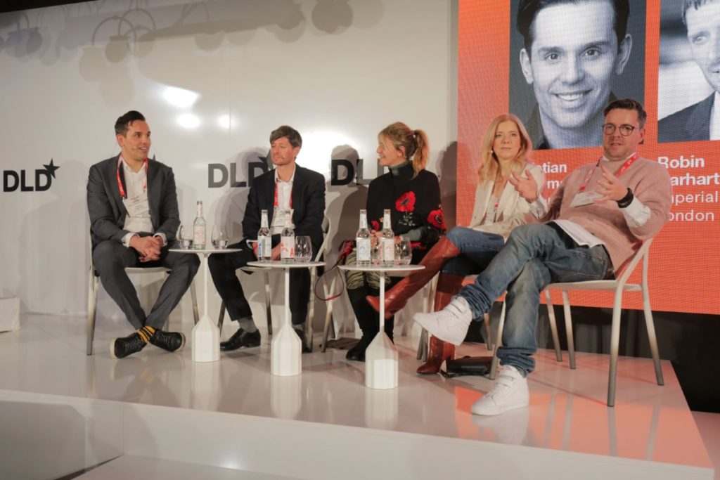 DLD Munich, psychedelics, research, health benefits, panel