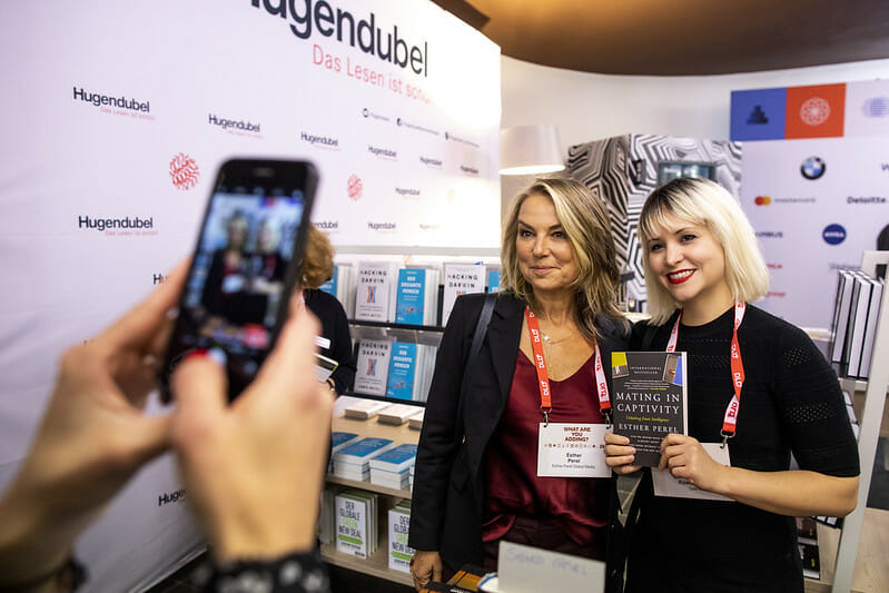 Esther Perel, DLD Munich 2020, author, book signing