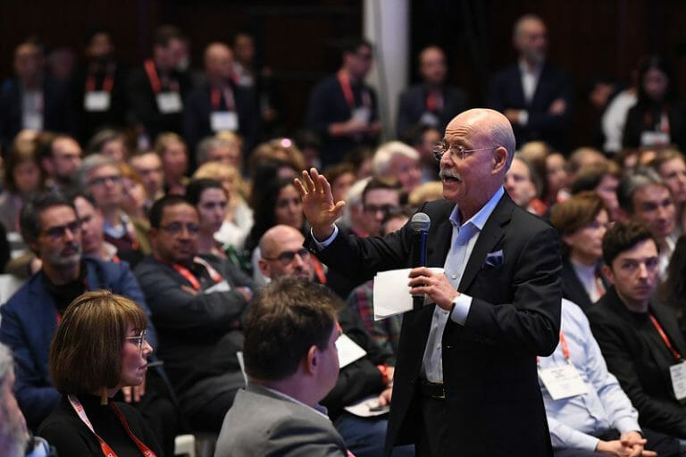 Jeremy Rifkin, Green New Deal, renewable energy, speech, DLD20, Munich