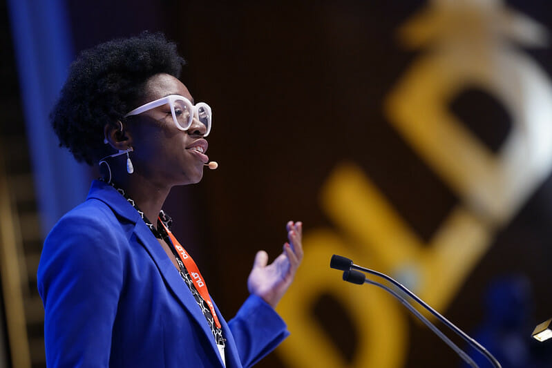 Joy Buolamwini, Algorithmic Justice League, DLD Munich