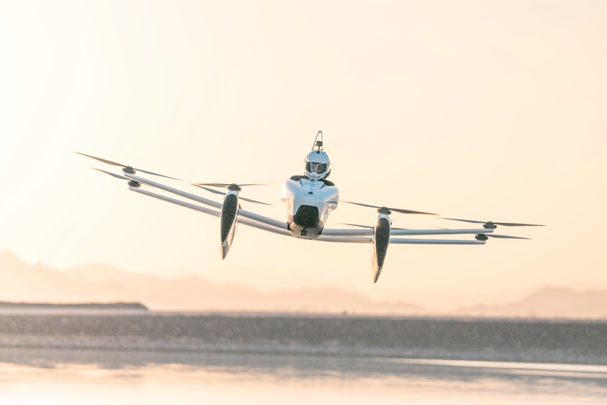 air taxi, Kitty Hawk, mobility