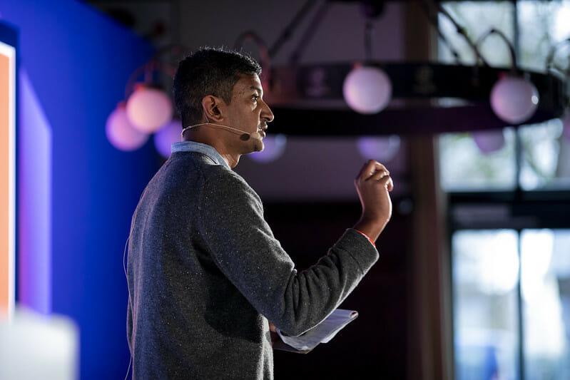 Ramesh Srinivasan, UCLA, talk, DLD20