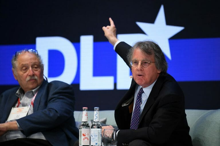 Roger McNamee, Facebook, investor, critic, author, Zucked, DLD Munich 2020
