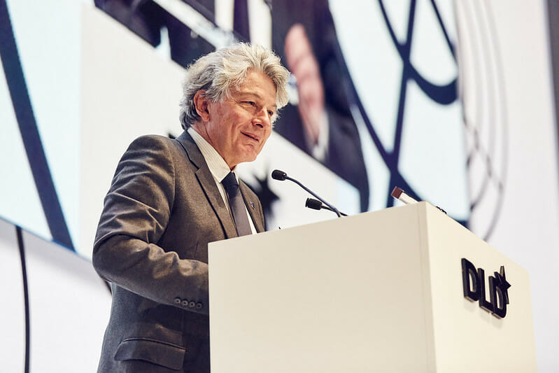 Thierry Breton, EU Commission, Europe, digitalisation, DLD Munich 2020