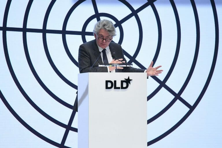 Thierry Breton, EU Commissioner, DLD Munich 2020, digitalization, digitization