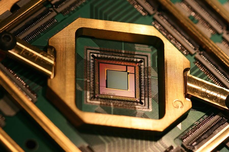 quantum computing, chip, D-Wave