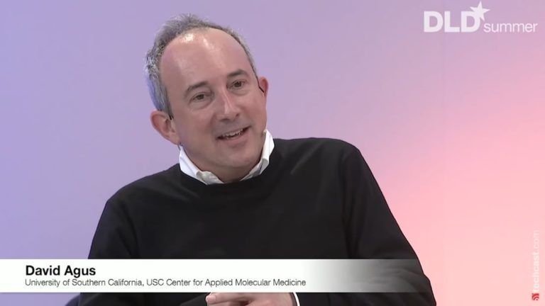 David Agus, medicine, wellbeing, health, DLD conference, video