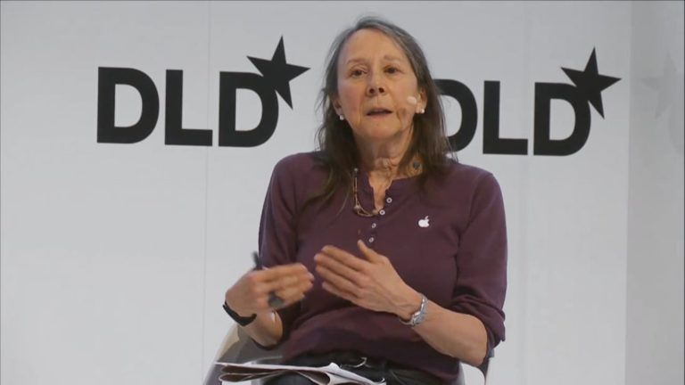 Esther Dyson, wellbeing, investor, DLD conference