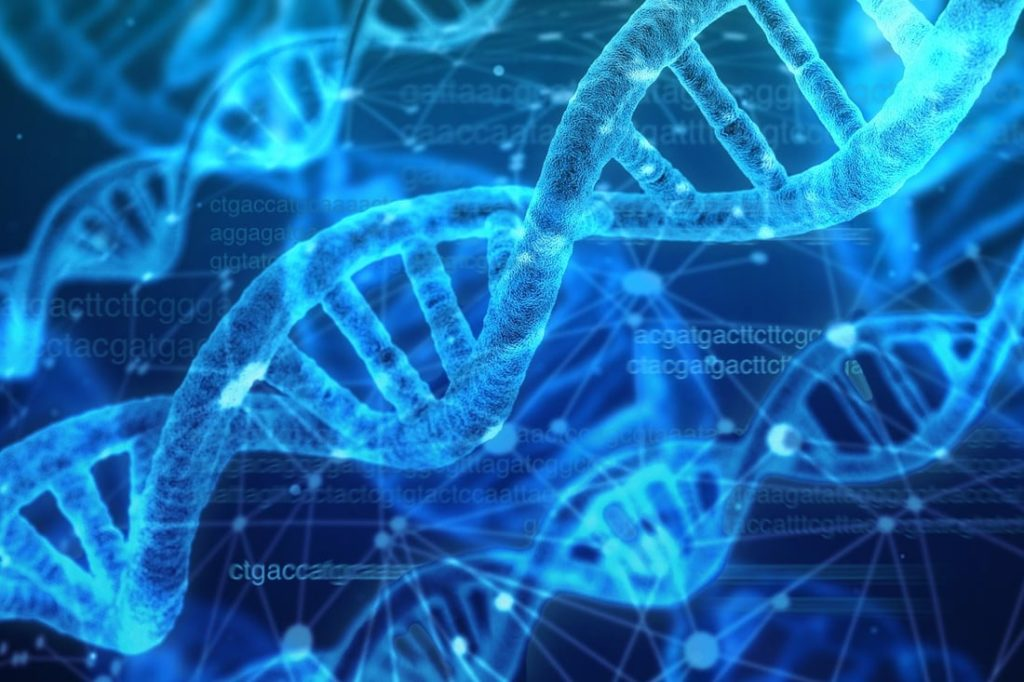 gene editing illustration, DNA, double helix