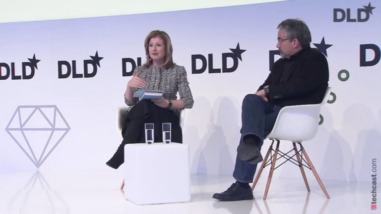 Arianna Huffington, Alex Pang, rest, health, stress, DLD conference