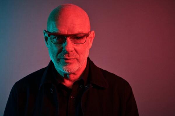 Brian Eno, portrait, Shamil Tanna