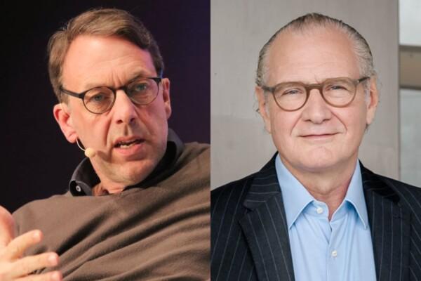 Klaus Hommels, Stefan Oschmann, DLD Sync