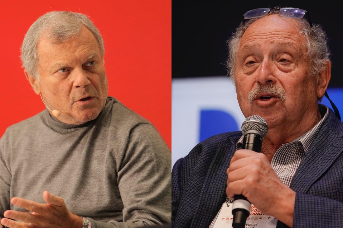 Sir Martin Sorrell, Yossi Vardi, DLD Sync