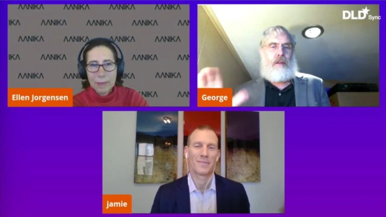 Ellen Jorgensen, George Church, Jamie Metzl, biotechnology, DLD Sync, webinar, video