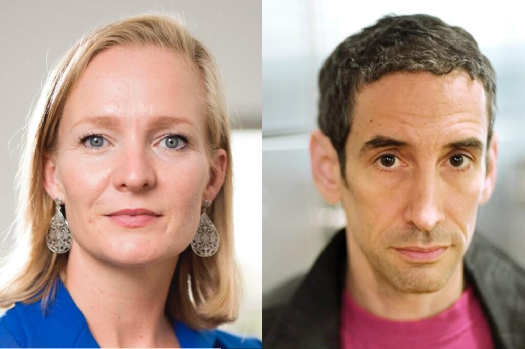 Marietje Schaake, Douglas Rushkoff, DLD Sync