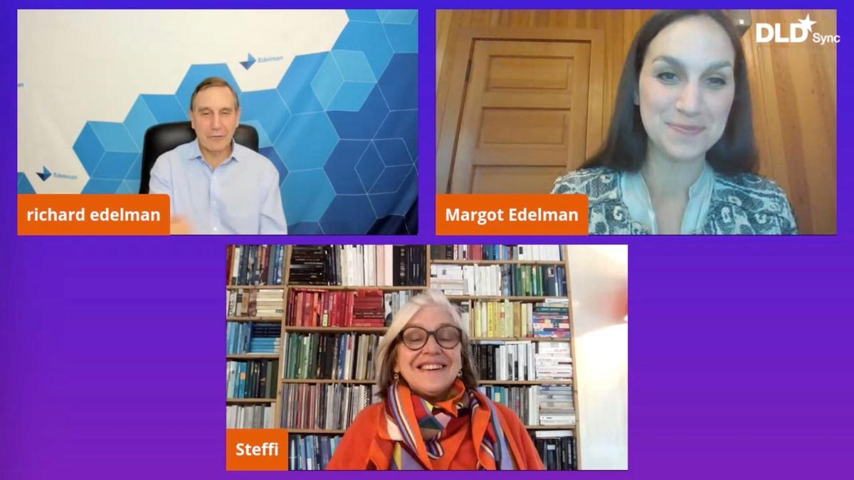 Richard Edelman, Margot Edelman, DLD Sync, webinar