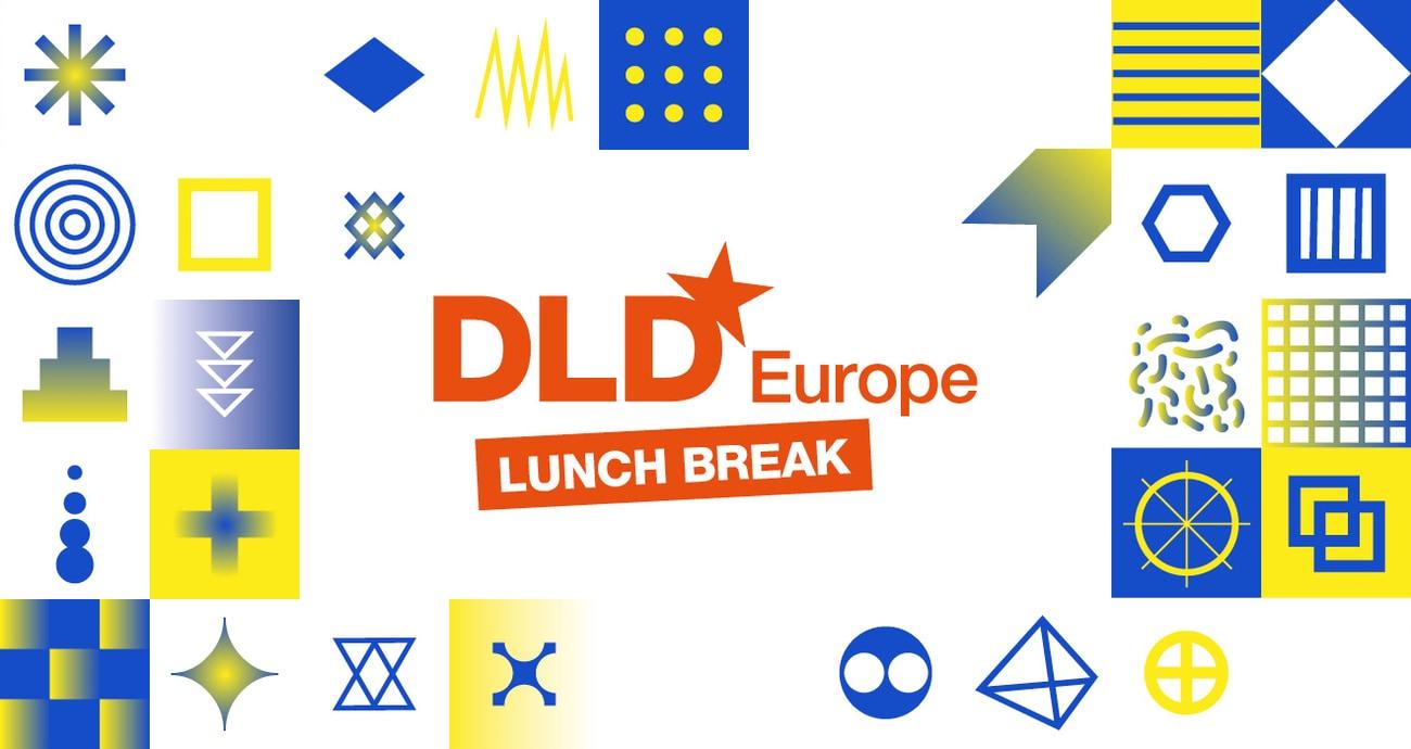 DLD Europe 2020, power break, lunch talks