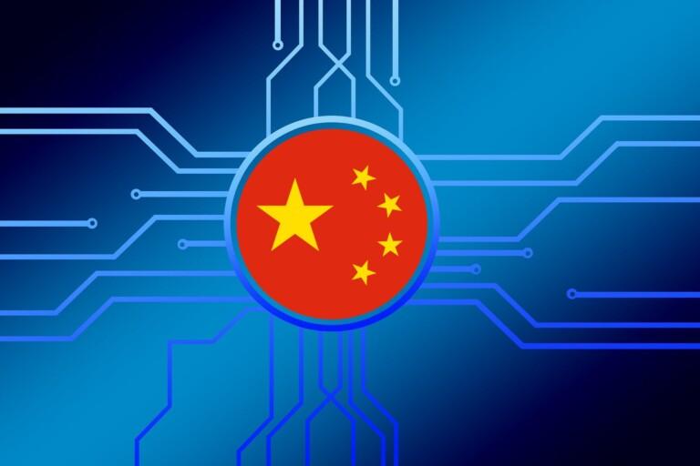 China, artificial intelligence, illustration