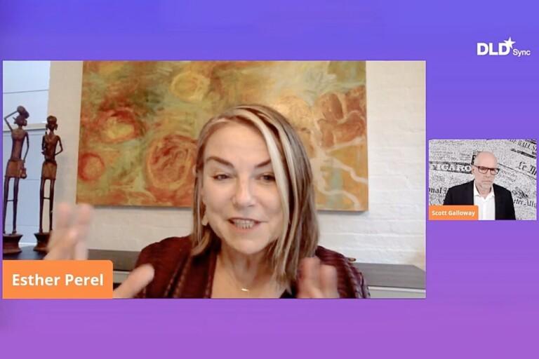 Esther Perel, Scott Galloway, DLD Sync