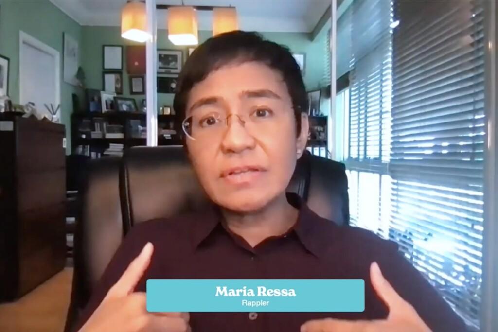 Maria Ressa, Rappler, freedom of speech, DLD All Stars, talk, video
