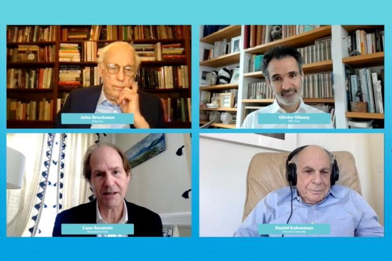 Daniel Kahneman, Olivier Sibony, Cass Sunstein, DLD All Stars