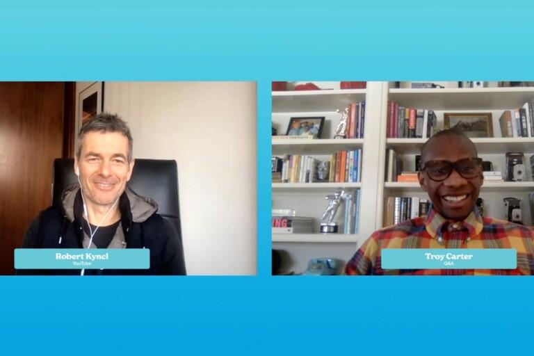 Robert Kyncl, YouTube, Troy Carter, Q&A, DLD All Stars