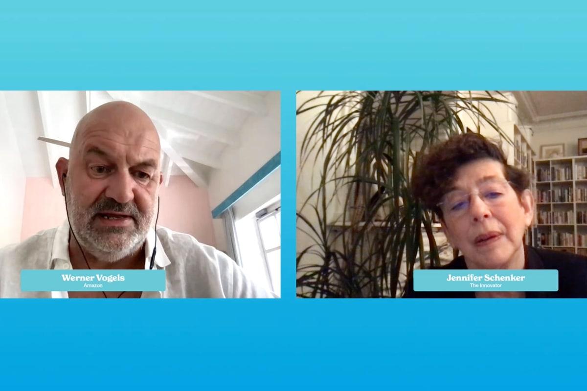 Werner Vogels, Amazon, Jennifer Schenker, DLD All Stars