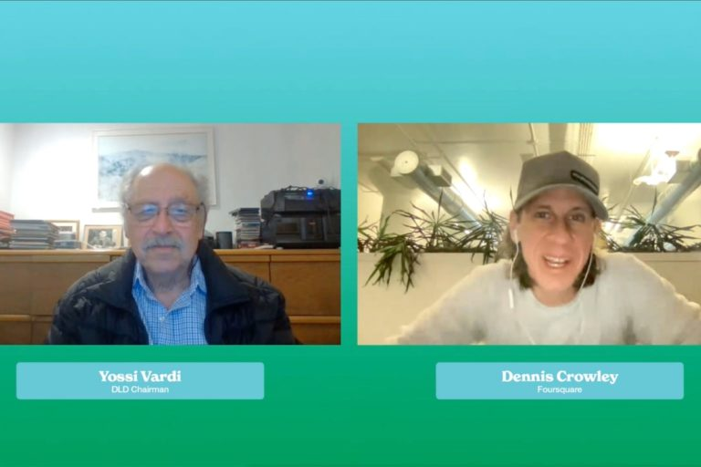 Dennis Crowley, Foursquare, Yossi Vardi, DLD All Stars